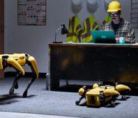 Первые робопсы начали работать: охранником на автозаводе и оценщиком в страховой фирме