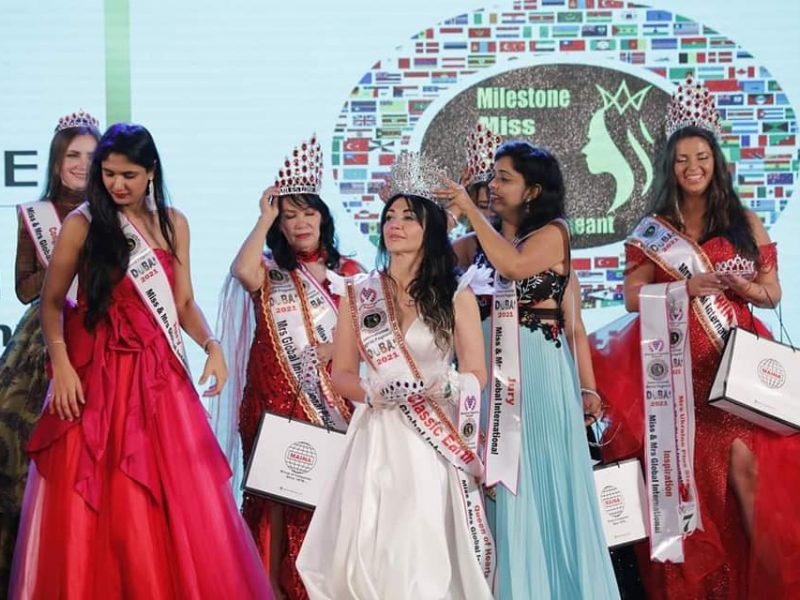 Депутат Николаевского горсовета получила корону победительницы конкурса красоты в Дубае