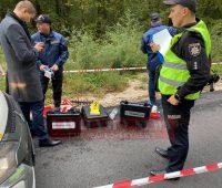 В лесу, из которого стреляли по машине Шефира, нашли труп (ФОТО 18+)