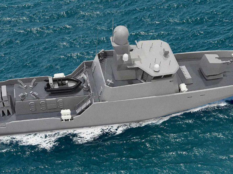 Два первых ракетных катера для Украины начнут строить в Шотландии