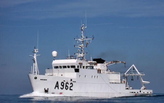 Украина получила от Бельгии судно для мониторинга экологии Черного и Азовского морей