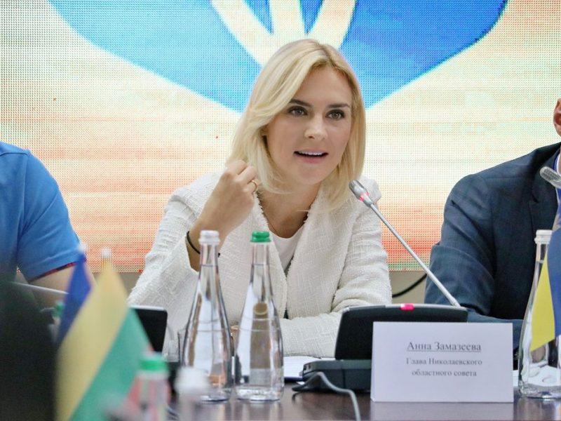 Ганна Замазєєва: «Поіоритетне завдання будівництва відстійника увійшло у стадію реалізації» (ФОТО)