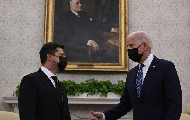 Новый формат по Донбассу, вступление в НАТО, гарантии санкций по «Северному потоку» — Зеленский рассказал содержание «мужского разговора» с Байденом (ВИДЕО)