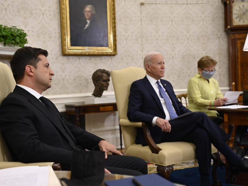 Встреча Байдена и Зеленского длилась более двух часов