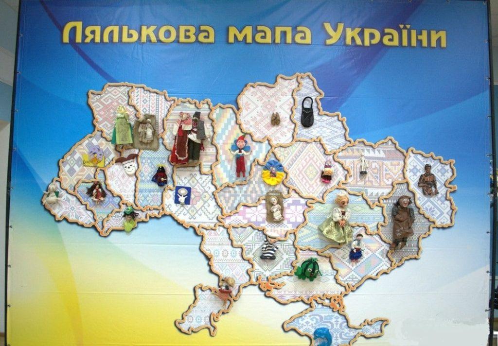 В Николаеве создали Кукольную карту Украины (ФОТО) 1
