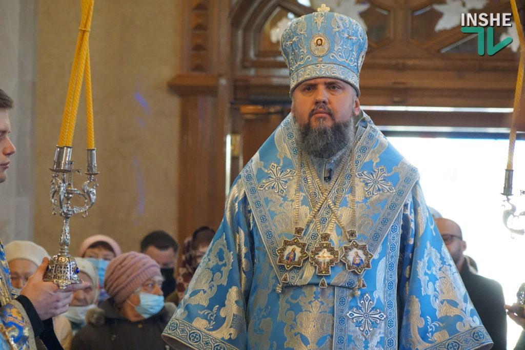 Предстоятель Украинской Православной Церкви Епифаний возглавил Божественную литургию в николаевском храме (ФОТО, ВИДЕО) 19