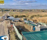 Многострадальный мост в Пересадовке: начаты подготовительные работы по строительству нового моста (ФОТО)