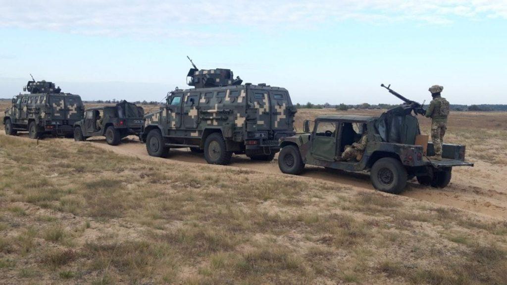 На Николаевщине у морских пехотинцев и резервистов начались учения (ФОТО) 3
