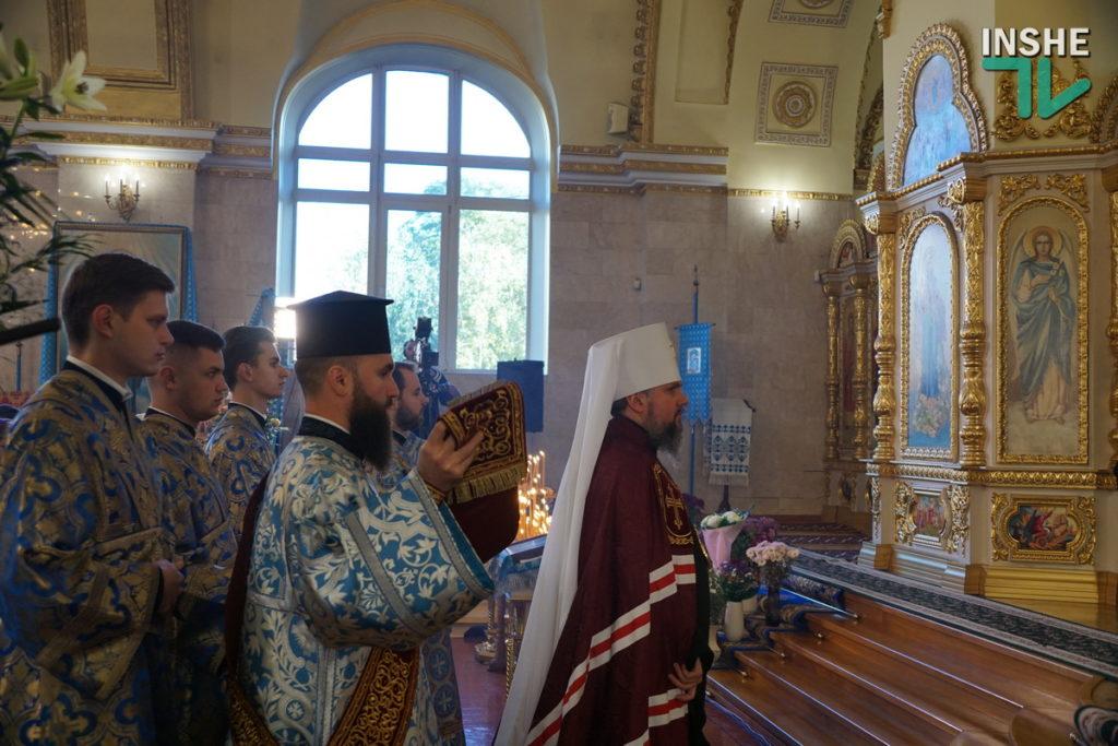 Предстоятель Украинской Православной Церкви Епифаний возглавил Божественную литургию в николаевском храме (ФОТО, ВИДЕО) 3