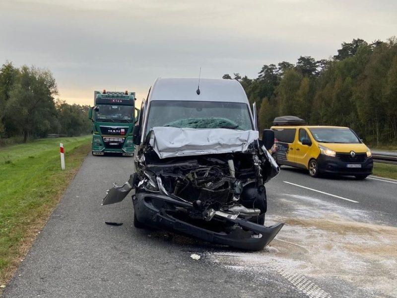 В Польше микроавтобус с украинцами попал в ДТП — пятеро пострадавших (ФОТО)