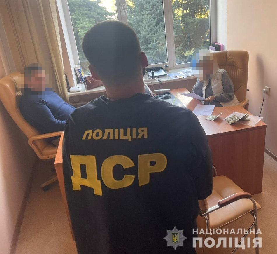 В Николаеве полиция задержала адвоката, которая взяла $3600 на решение в ОГА вопроса выделения земли 3