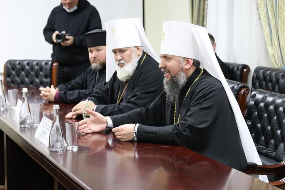Митрополит Епифаний наградил орденами Кима, Замазееву и Сенкевича (ФОТО) 5