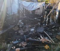 В Николаеве на пожарище найден труп мужчины (ФОТО)