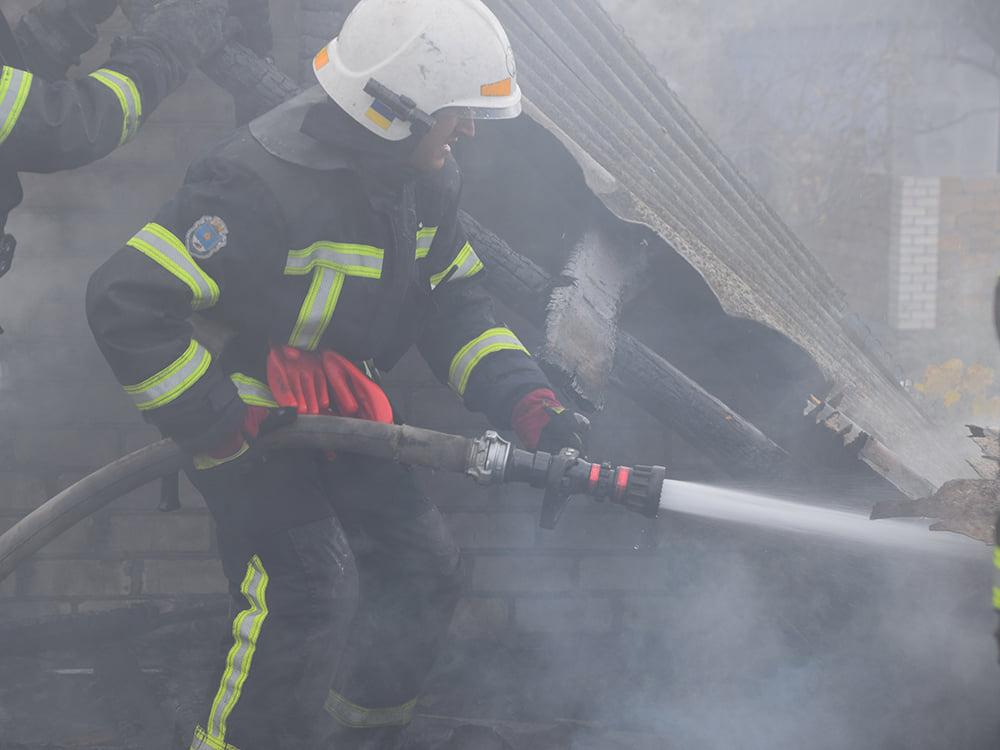 В селе под Николаевом спасатели потушили горевшую крыше частного дома (ФОТО) 27
