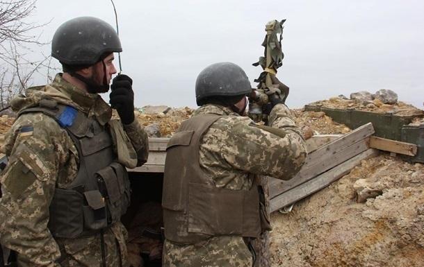 На Донбассе ранены двое военных 5