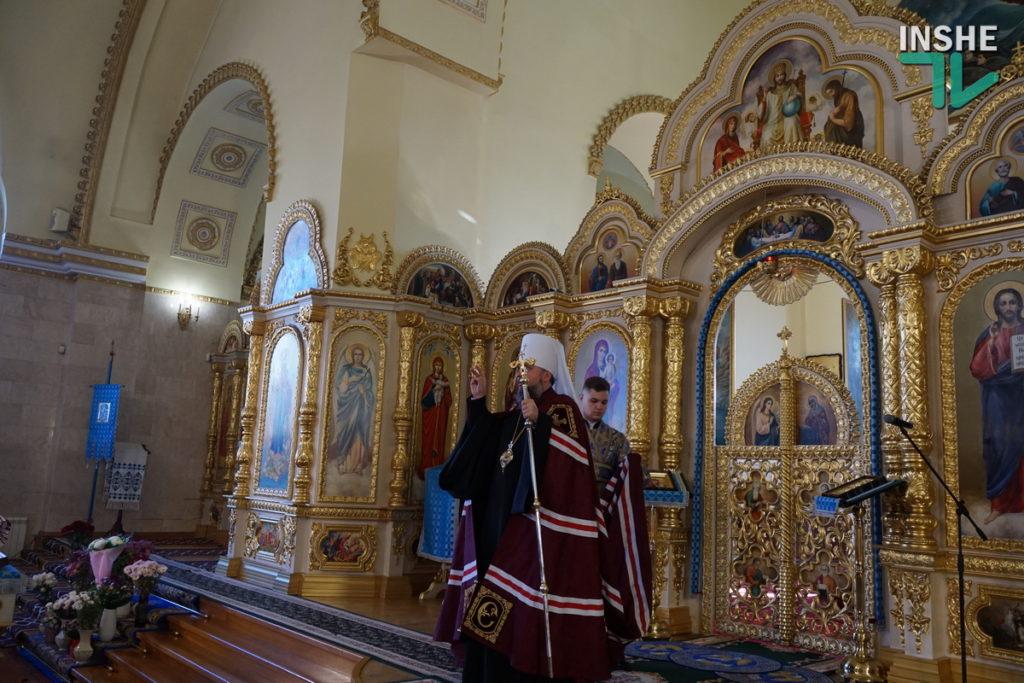 Предстоятель Украинской Православной Церкви Епифаний возглавил Божественную литургию в николаевском храме (ФОТО, ВИДЕО) 7