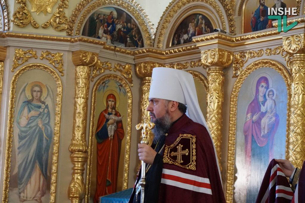 Предстоятель Украинской Православной Церкви Епифаний возглавил Божественную литургию в николаевском храме (ФОТО, ВИДЕО) 9