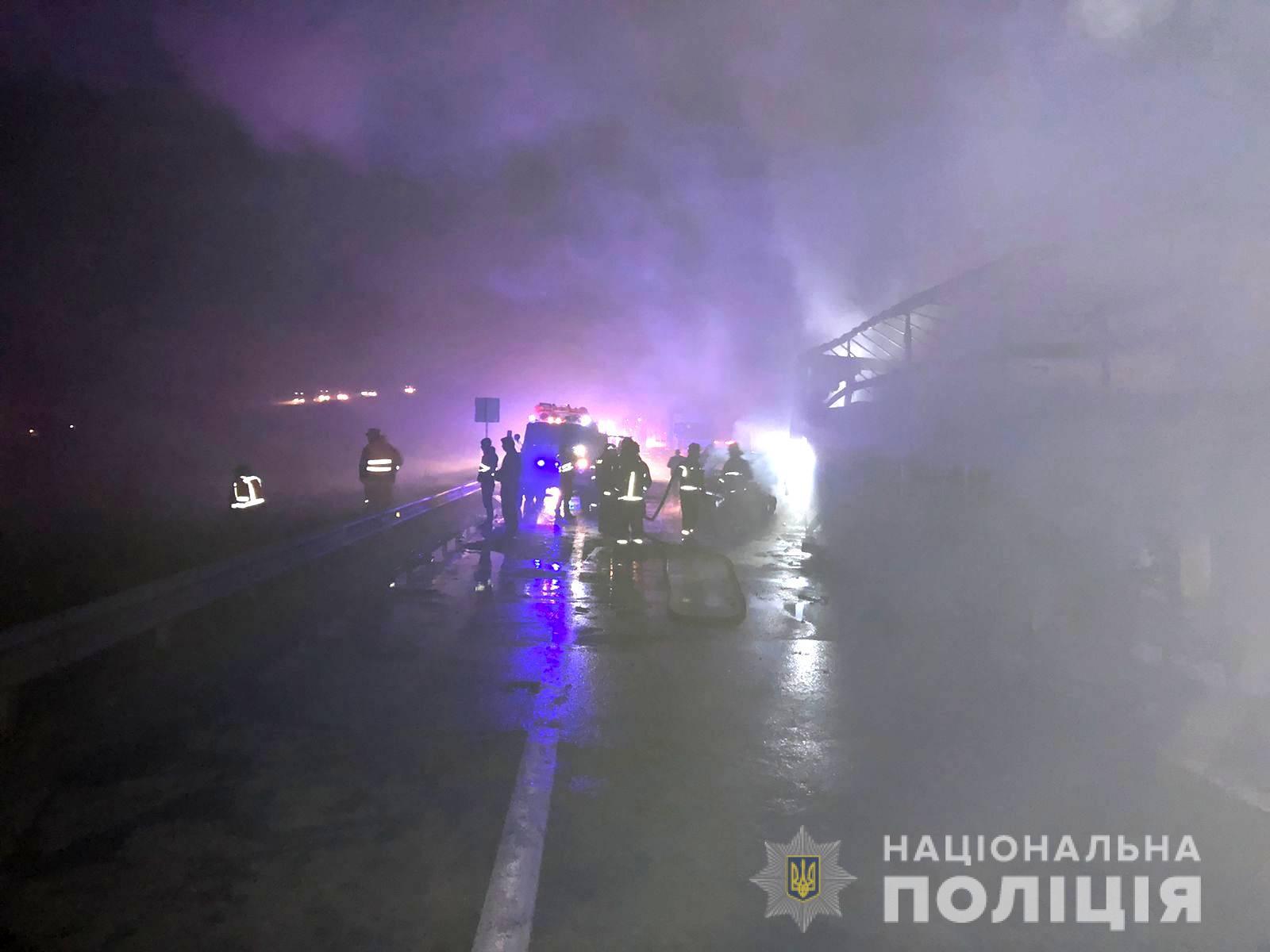 Масштабное ДТП на трассе Киев-Одесса - 3 погибших, объезд по Старокиевской дороге (ФОТО) 3