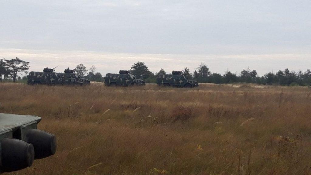 На Николаевщине у морских пехотинцев и резервистов начались учения (ФОТО) 11