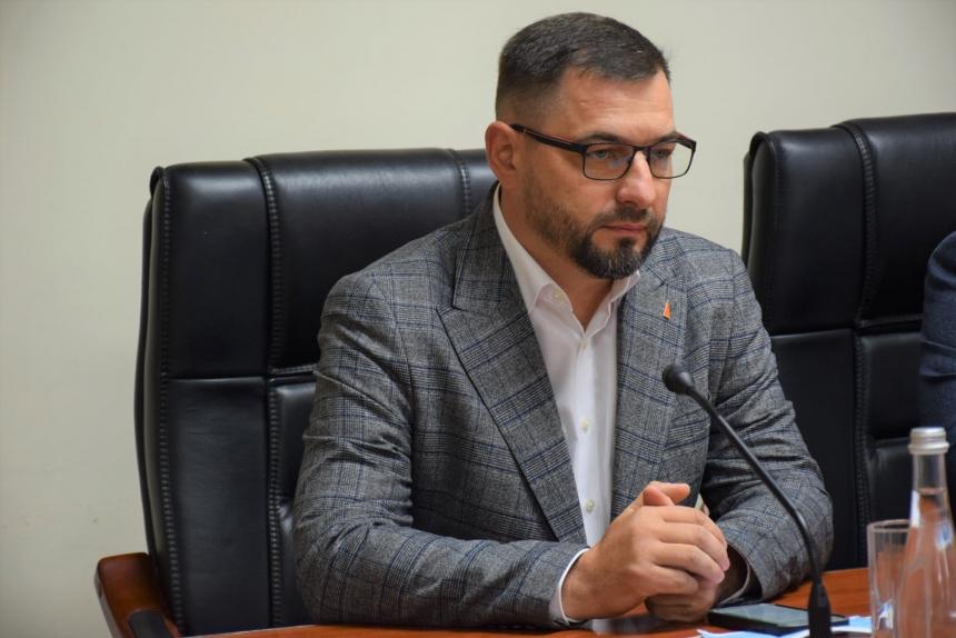 Новый начальник управления охраны здоровья Николаевской ОГА Максим Безносенко официально представлен медикам (ФОТО) 5