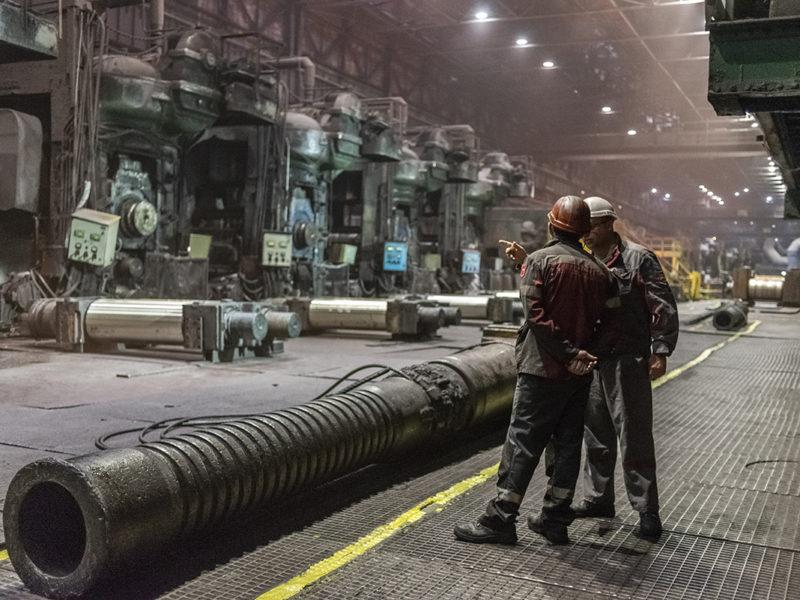 Половина промышленности Украины остановит или сократит производство из-за дорогого газа