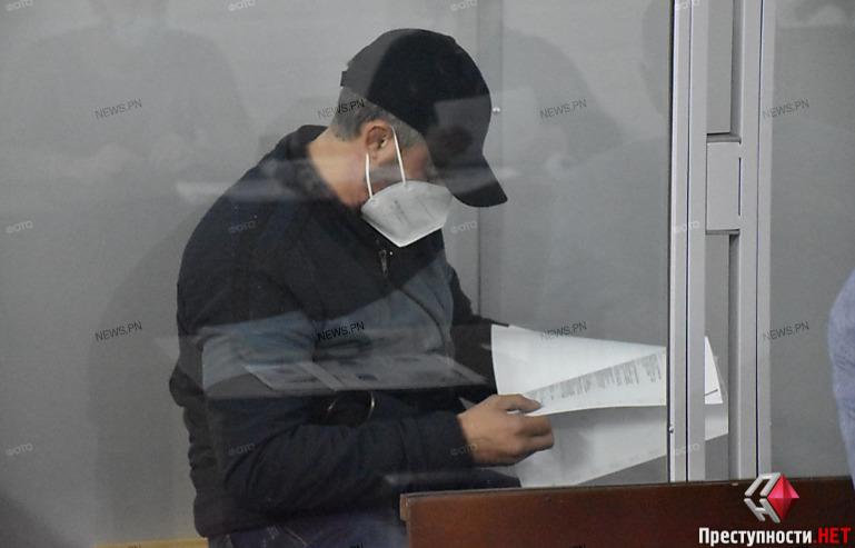 В Николаеве суд арестовал без права залога подозреваемого в покушении на бизнесмена Титова